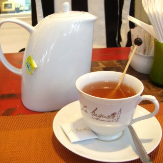 Aromatic apple tea