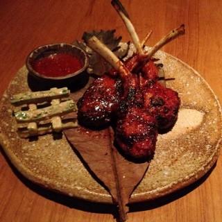 Korean spiced Lamb chops