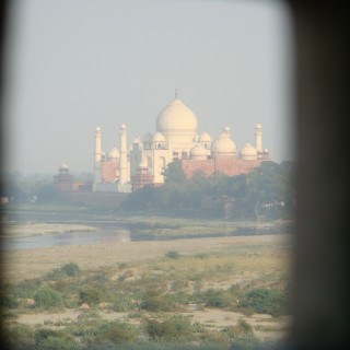 What Shah Jahan saw from the Agra Fort