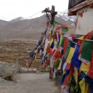 Prayer flags in Leh, Ladakh