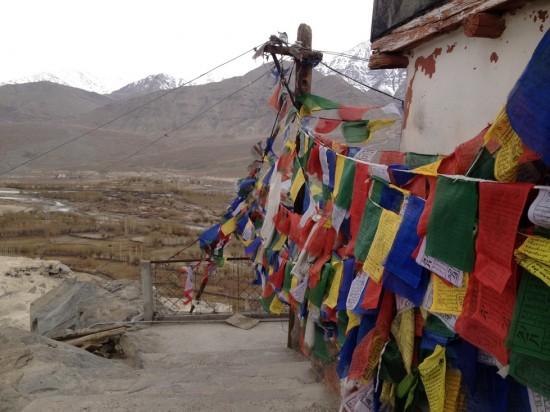 Prayer flags in Leh, Ladakh