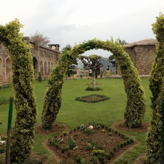 Landscaped garden at Pari Mahal