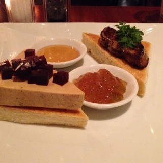 Duo of Duck Foie Gras