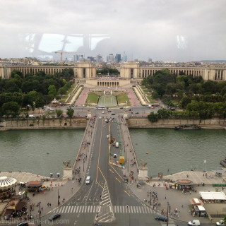 From 58 Tour Eiffel restaurant