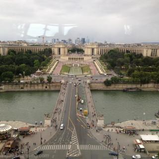 From 58 Tour Eiffel restaurant