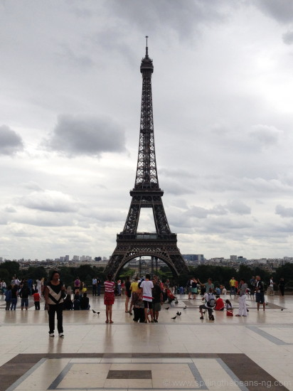 Eiffel Tower from Trocadero