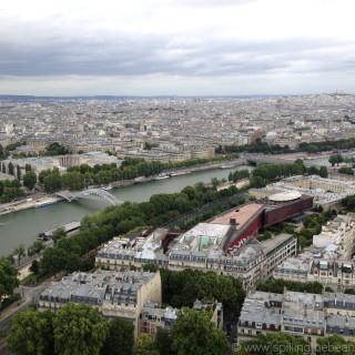 City of Paris and the Seine river