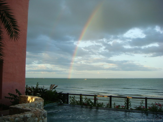 Somewhere over the rainbow in Hua Hin