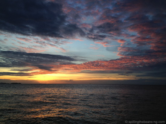 Colors of the sky - Pattaya