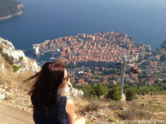 Admiring beautiful Dubrovnik