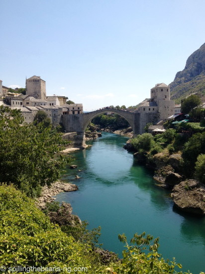 Stari Most (Old Bridge) in Mostar, Bosnia and Herzegovina
