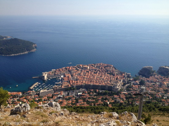Dubrovnik - atop Srd Hill