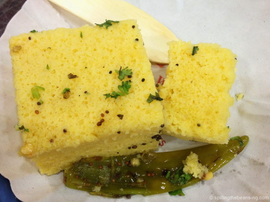 Dhokla - A really delicious Gujarati snack