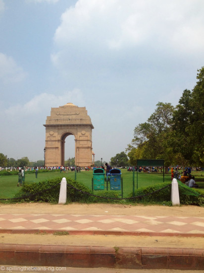 India Gate - a war memorial completed in 1931