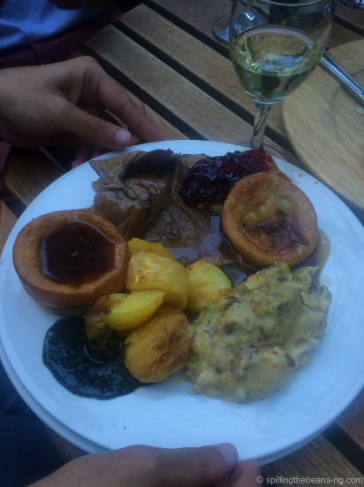 Traditional Roast, Potatoes and Yorkshire Pudding