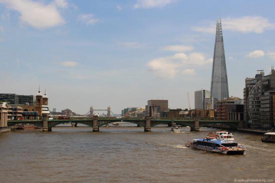 View from the Millennium Bridge