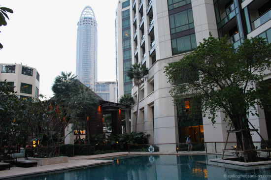 Towering neighbour - Centara Grand Hotel