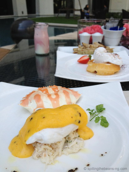 Phuket - Poached egg with crabmeat
