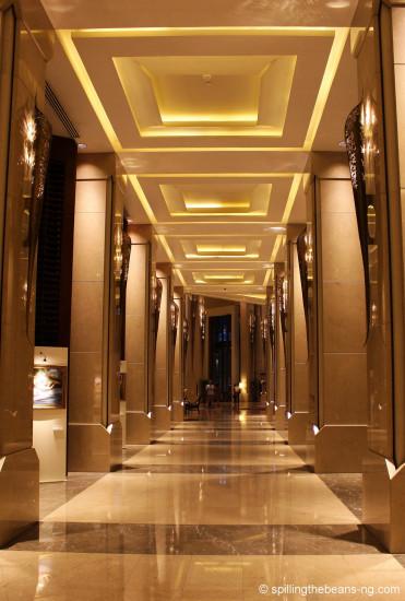 Symmetry in the hallway - Walk of same!