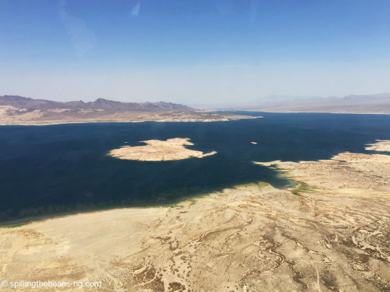 Lake Mead - the largest reservoir in the US