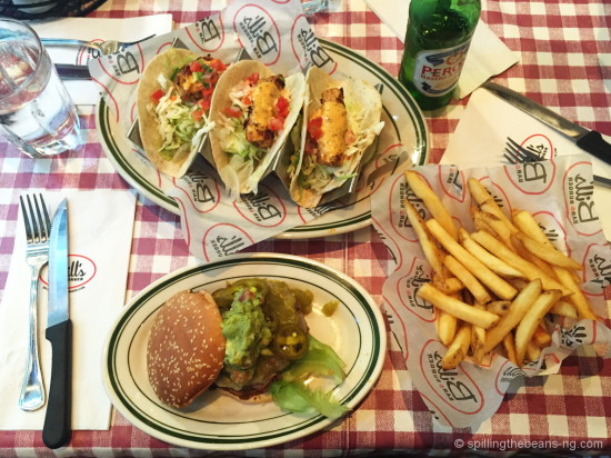 Burger & Tacos at Bill's Bar & Burger