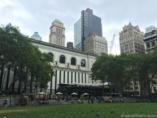 Bryant Park & New York Public Library