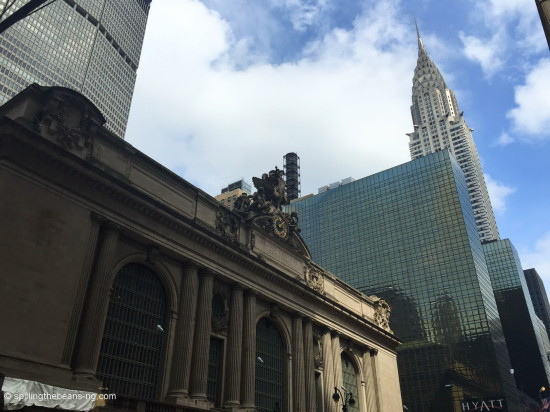 Grand Central & Chrysler Building - Daytime