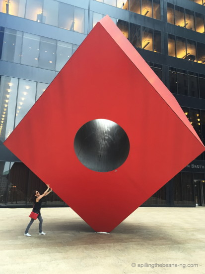 Red Cube Public Artwork