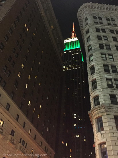 Empire State Building on India's Independence Day