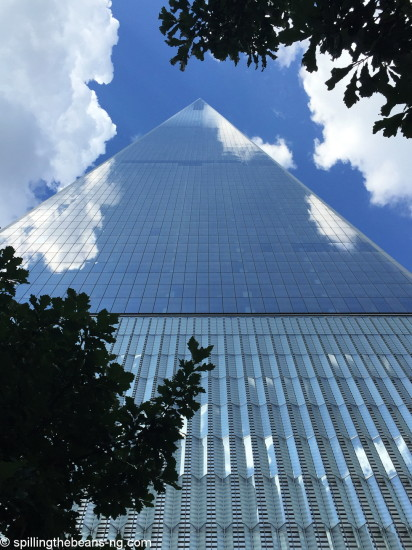 One World Trade - looking up