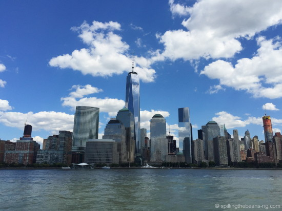 Lower Manhattan as seen from the Liberty Cruise