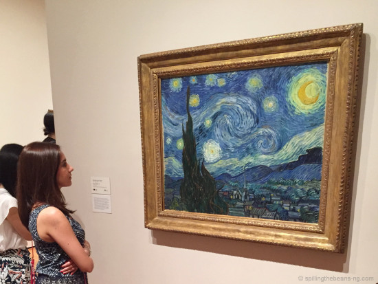Mesmerized at MOMA - Admiring The Starry Night